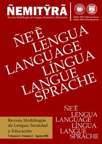 Ver Vol. 2 Núm. 1 (2020): ÑEMITỸRÃ - Revista Multilingüe de Lengua, Sociedad y Educación