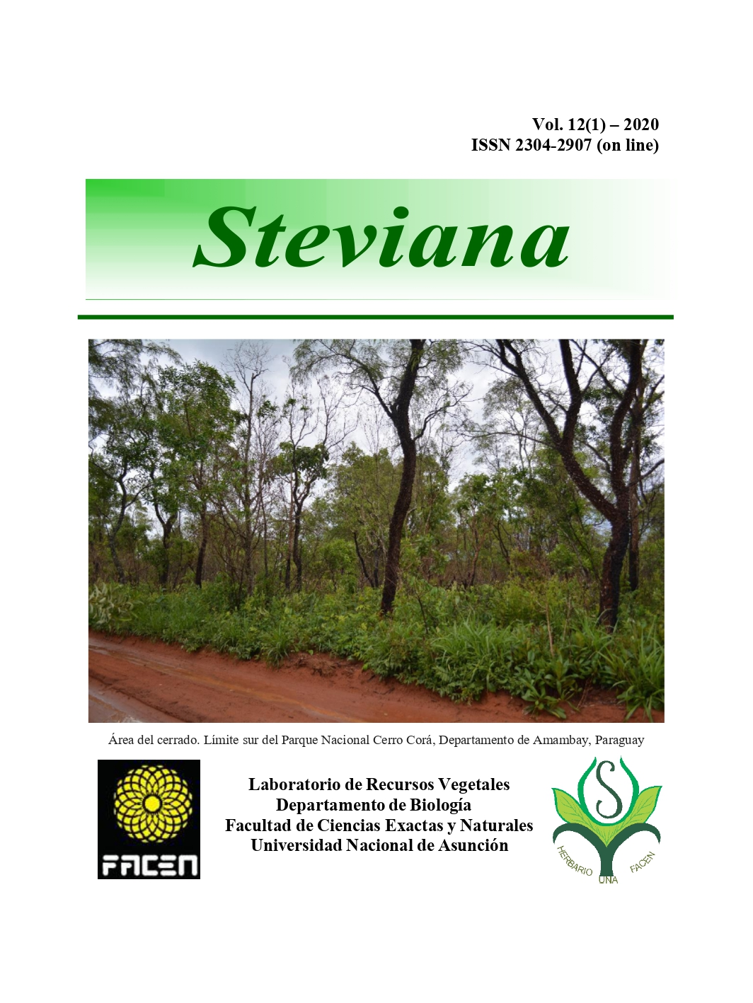 Ver Vol. 12 (2020): Steviana