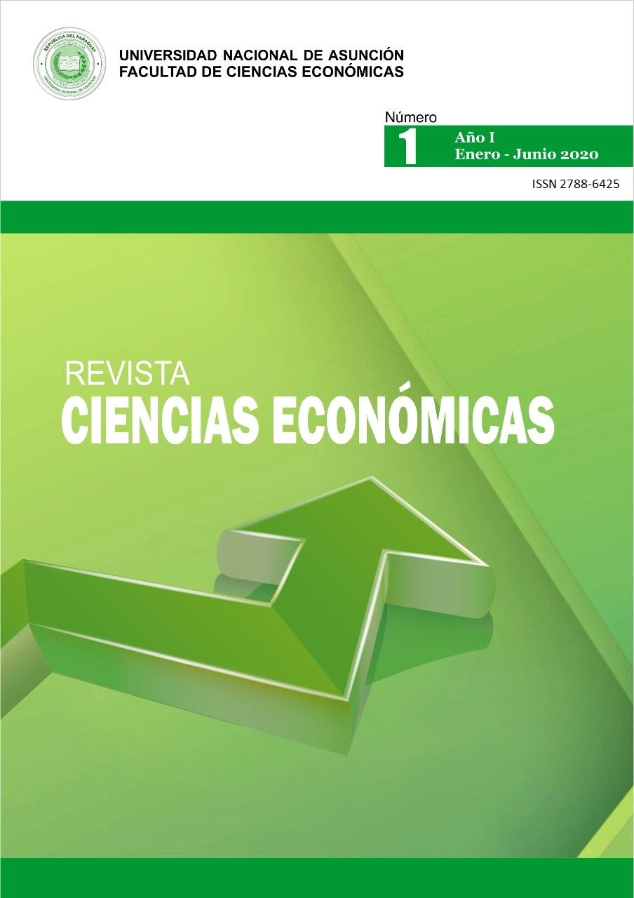 Ver Vol. 1 Núm. 1 (2020): Revista Ciencias Económicas