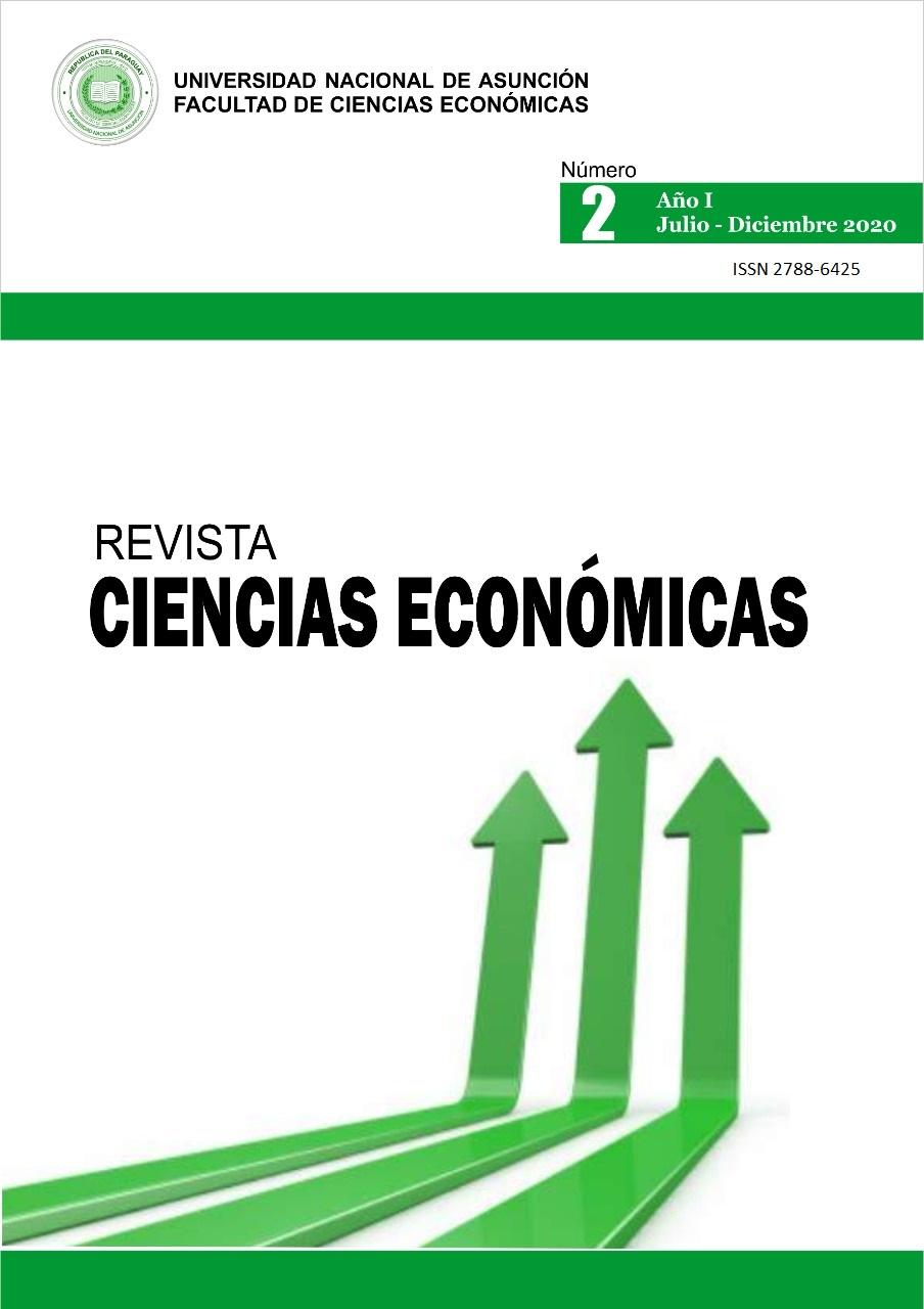 Ver Vol. 1 Núm. 2 (2020): Revista Ciencias Económicas